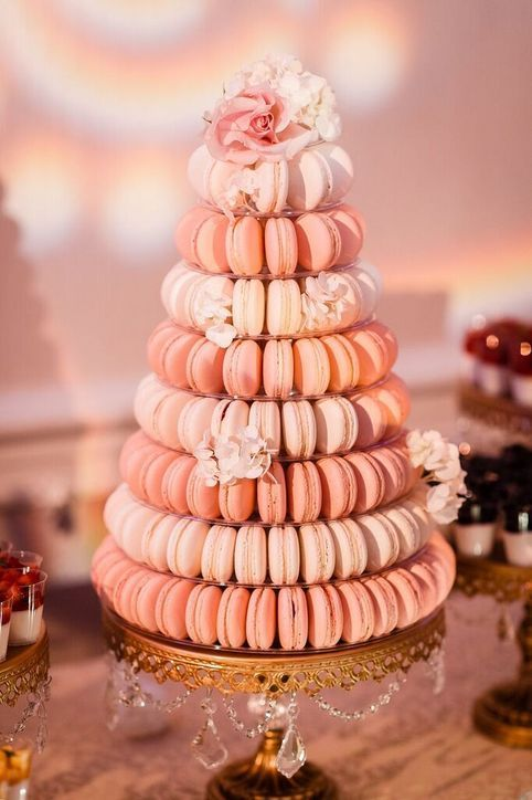 27 Wedding Trends We Have to Look Forward to In 2016- featured on Glamour.com. 2016 Wedding Trend prediction- desserts other than cake by Anais Events- www.anaisevents.com. Photo by MP Singh Photography.