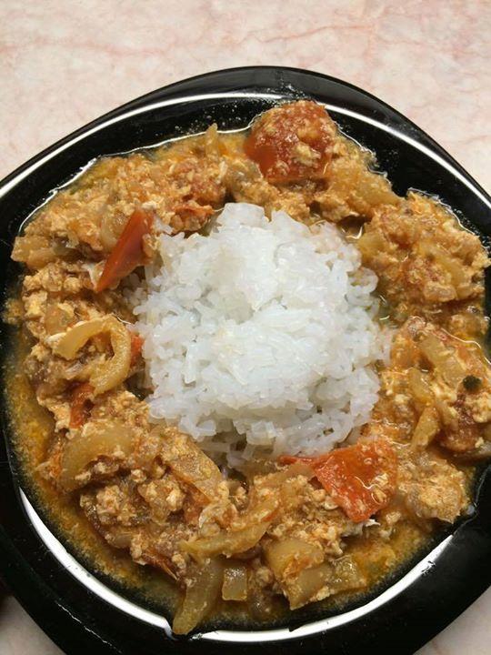 Rizses-tojásos lecsó NoCarb módra rizsszem tésztából | Klikk a képre a receptért!