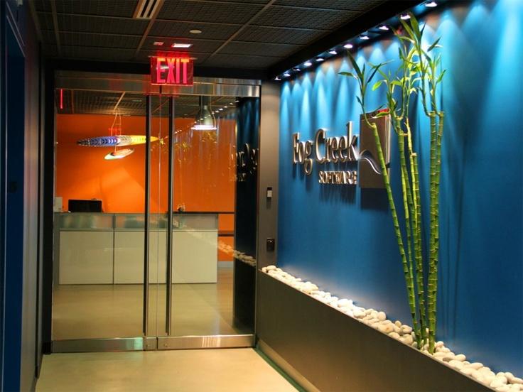 14 best office entrance images on pinterest office for Office entrance design