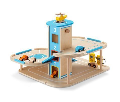 Tchibo.de, wooden race car track/garage; Holz-Parkgarage online bestellen bei Tchibo 332190