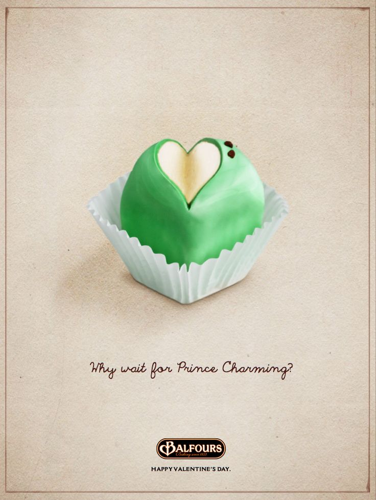 Print advertising by Jordan Hillier - London based digital art director • for Balfours of Adelaide city • we love Adelaide because it is home to the iconic Balfours Frog Cake • as the beautiful frog cake poster says 'why wait for prince charming?' when a Balfours frog cake awaits you in Adelaide • why we love Adelaide