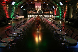 The Bluestone Function Room in Auckland looks like a unique venue