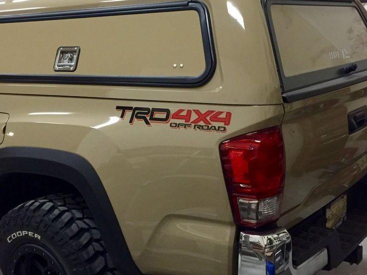 Tacoma Off Road Parts >> 2016 shell pics? | Toyota tacoma camper shell, Toyota tacoma accessories, 2017 toyota tacoma ...