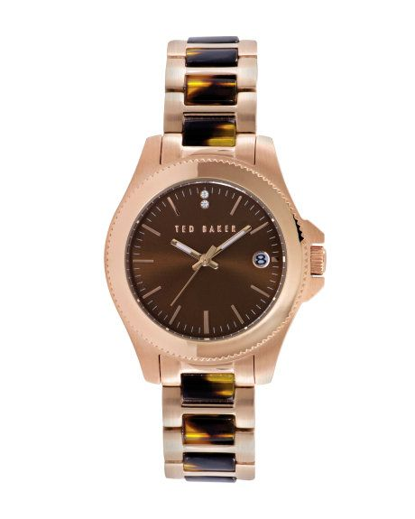 TORTY | Tortoise sheel watch - Tortoise Shell | Watches | Ted Baker