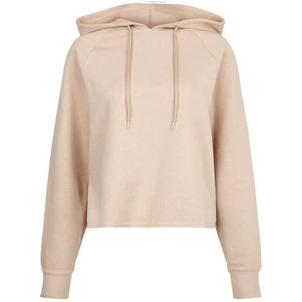 Stone Cropped Hoodie ($1.06) ❤ liked on Polyvore featuring tops, hoodies, hoodie crop top, stone top, hoodie top, hooded pullover and cropped hoodies