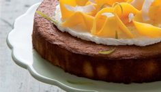 Kokos-yoghurttaart Met Mango recept | Smulweb.nl