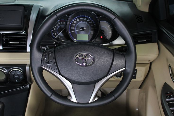 Toyota All New Vios Type 1.5 G - Steer View - AUTO2000 https://auto2000.co.id/cars_list/toyota-vios/