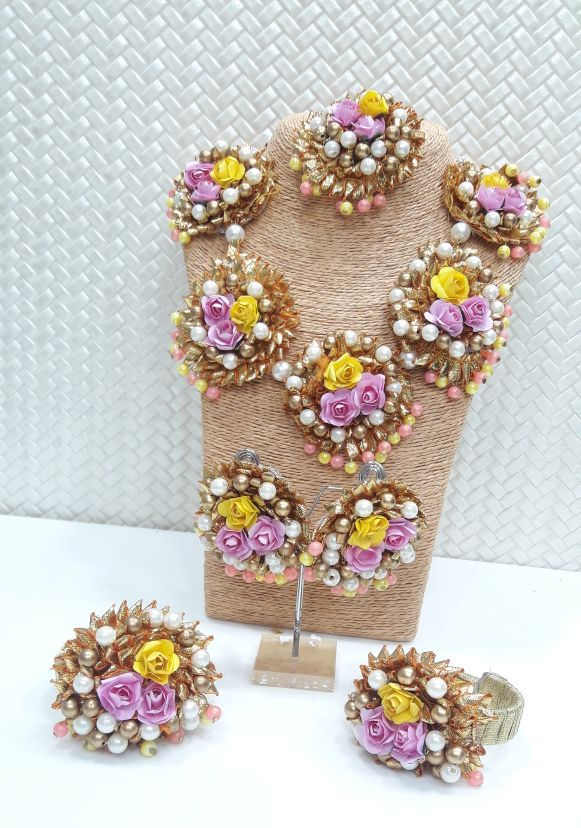 Now A Days Flower Jewellery Are In Trend And Have A Great Demand In