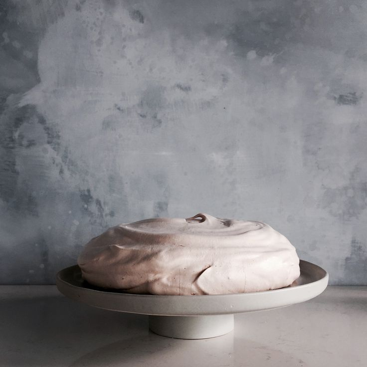 Too good to eat.. but.. we would! Lucy Tweed stylist with assistance from Katja Elisabeth created this romantic concept layering Porter's Paints Interno Lime Wash, in colours Dark Newport Blue and Mist, as a backdrop for the signature Australian Gourmet Traveller cake stand with picture perfect meringue