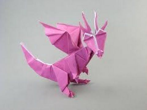 origami dragon instructions pdf