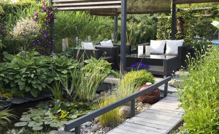 80 besten kleiner garten bilder auf pinterest kleine g rten pflanzen und balkon. Black Bedroom Furniture Sets. Home Design Ideas