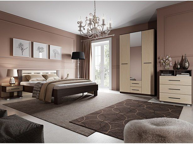 Кровать Орматек Женева - Красивая современная кровать. Изголовье кровати украшено декартивными прорезями, которые создают объемный эффект. Высокие ножки придают кровати строгий внешний вид.
