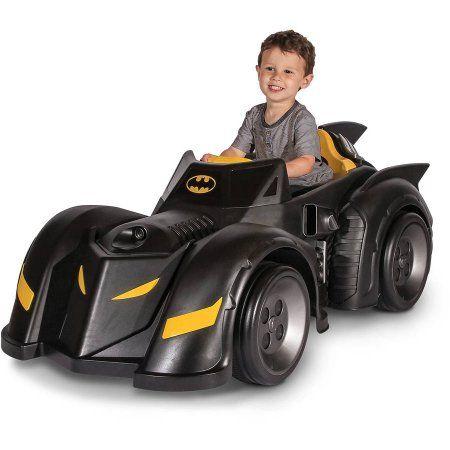 Batman Batmobile 6-Volt Battery-Powered Ride-On, Black