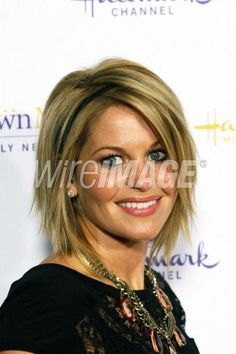 candace cameron hairstyles | candice cameron | Actress Candace Cameron Bure attends the 2012 TCA ...