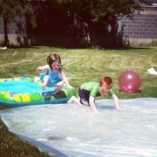 créer un tapis à eau géant
