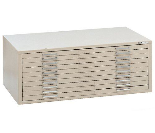 Mayline C Files 10 Drawer Metal Flat Cabinet For 30 X 42