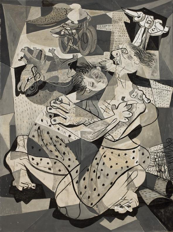 Candido Portinari. O Sacrifício de Abrahão (Série Bíblica), 1943. MASP