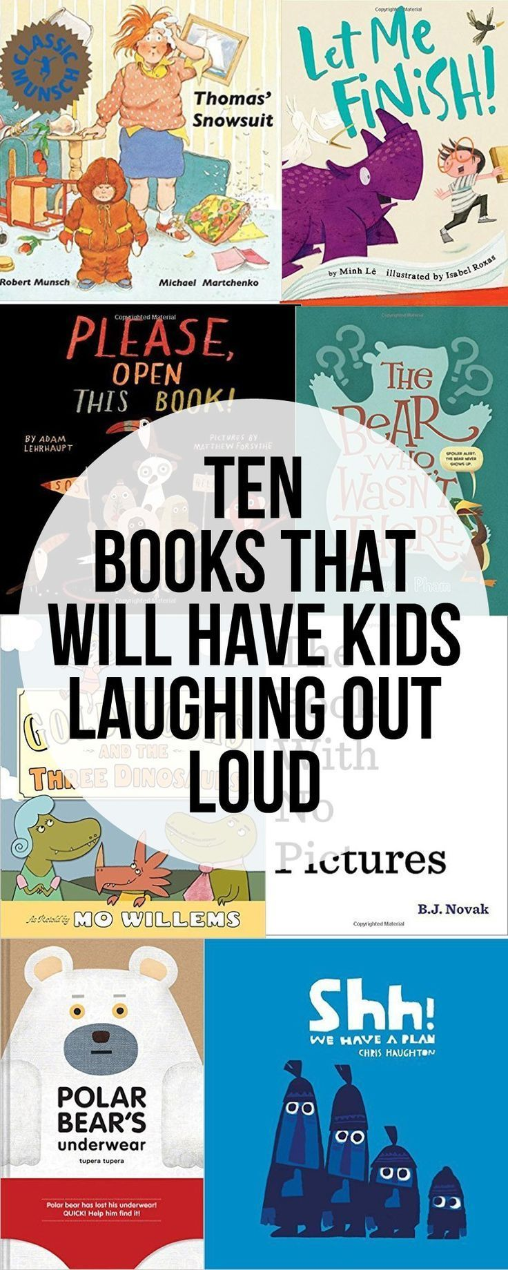 Pictures Books That Will Have Kids Laughing Out Loud. Repinned by SOS Inc. Resources pinterest.com/sostherapy/