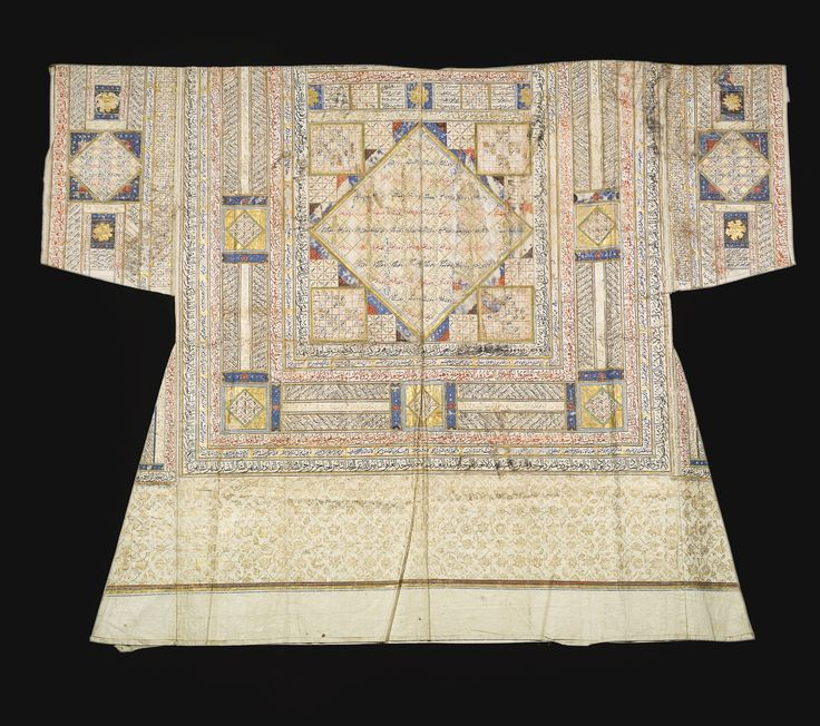 An Ottomantalismanic shirt (tilsimli gomlek), Turkey, dated 991 AH/1583 AD | lot | Sotheby's