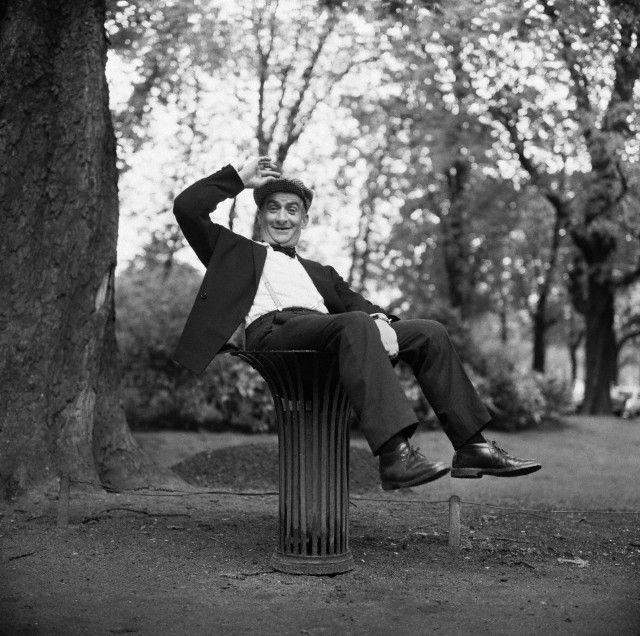 Louis de Funes 1960 paris
