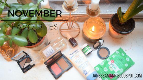 November Favourites - JanessaMann.Blogspot.com