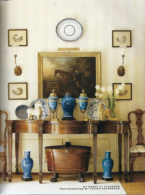 Dovecote Decor: Post Time: Equestrian Design at High Point