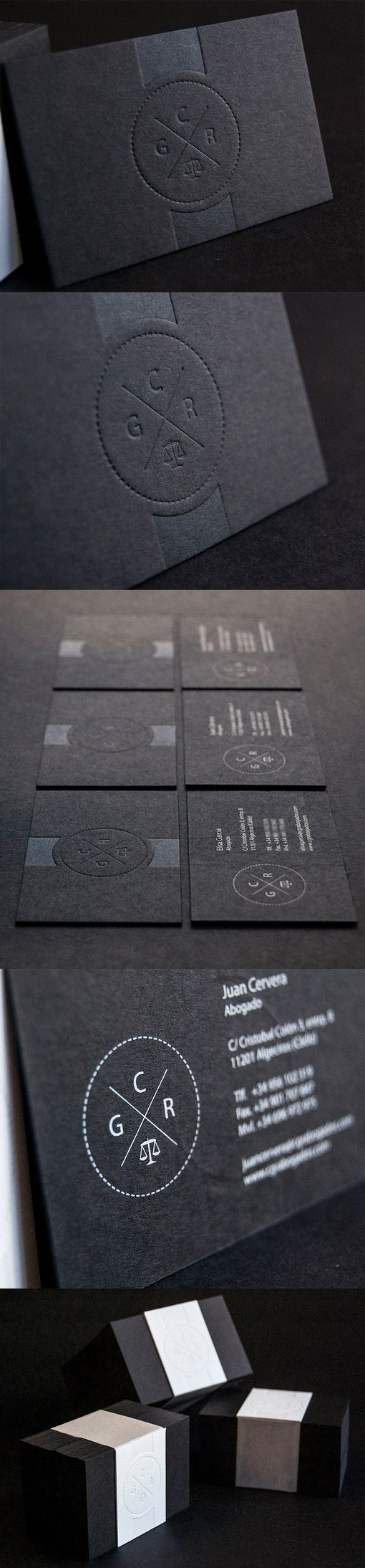 818 best business cards images on pinterest business cards carte black embossed business card design reheart Image collections