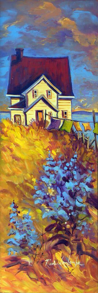 Peinture Nicole Coulombe