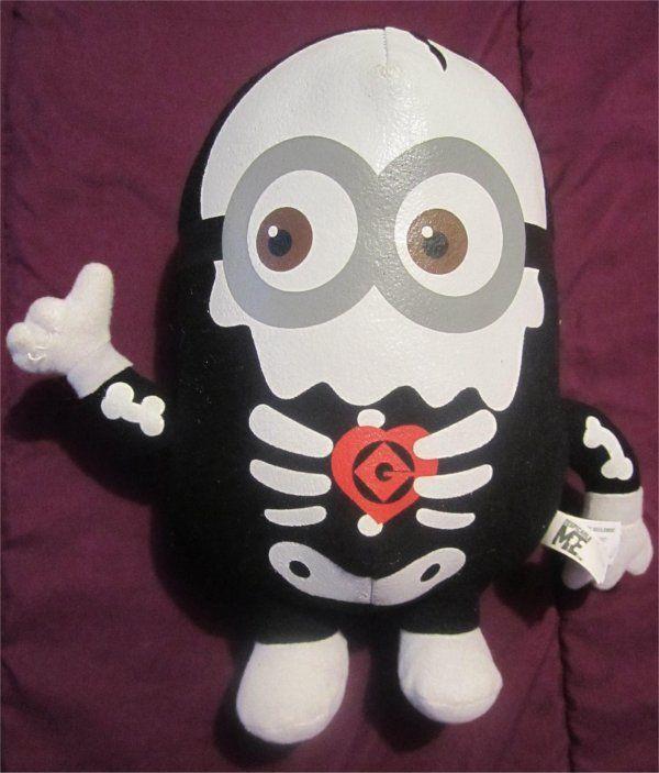 Despicable Me Movie Plush/Stuffed  -Skeleton  Jorge Minion Doll $6.99