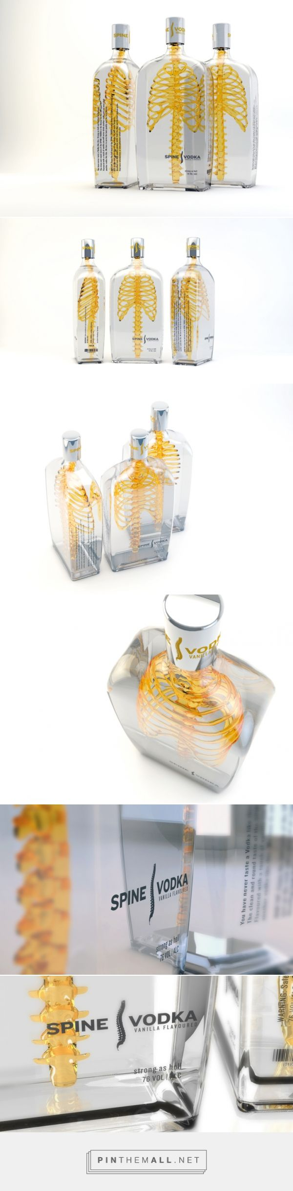 Eye-Catching Spine Design on Vodka Bottle - My Modern Met...