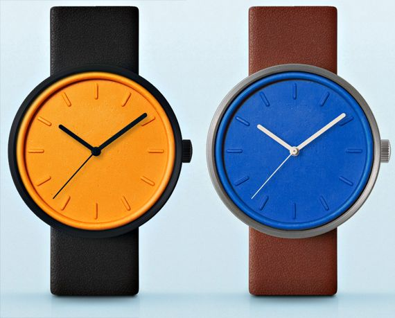Sealed Watch: stainless steel, gold, nylon and leather ...you choose case, color, hands and strap