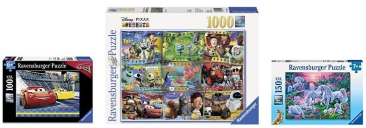 Amazon: HUGE Discounts On Ravensburger Puzzles – Today ONLY!!! Great Christmas Gifts!!