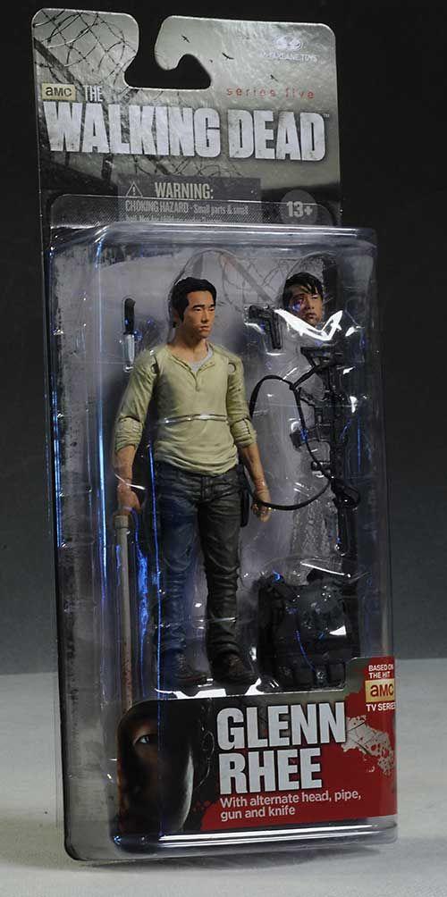 """Glenn Rhee (Steven Yeun) of The Walking Dead 5"""" Action Figure by McFarlane Toys"""