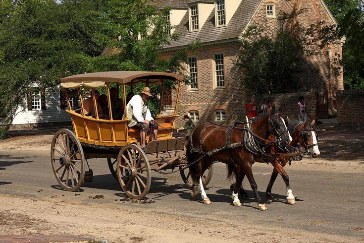 Horse-Drawn Wagons | Horse-drawn Wood Wagon Photograph