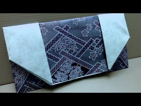 ▶ How to Make an Origami Wallet with Yuzen Washi - YouTube