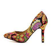 impresión floral zapatos de tacón de aguja de las... – USD $ 16.99