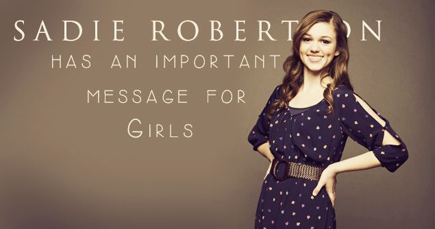 Sadie Robertson's Message for Women on Comparison and Jealousy