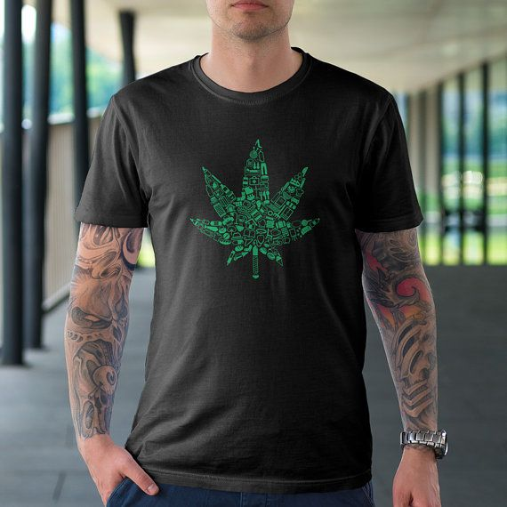 Useful Hemp Design Cotton Shirt by TheRizzofiedStudio to showcase how Hemp could save our planet!  CLICK now to buy from only $20.00 Or visit www.TheRizzofiedStudio.etsy.com to view all products #Hemp #etsy #tshirt