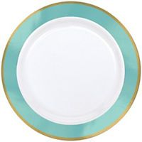 Robin's Egg Blue Tableware - Robin's Egg Blue Party Supplies - Party City
