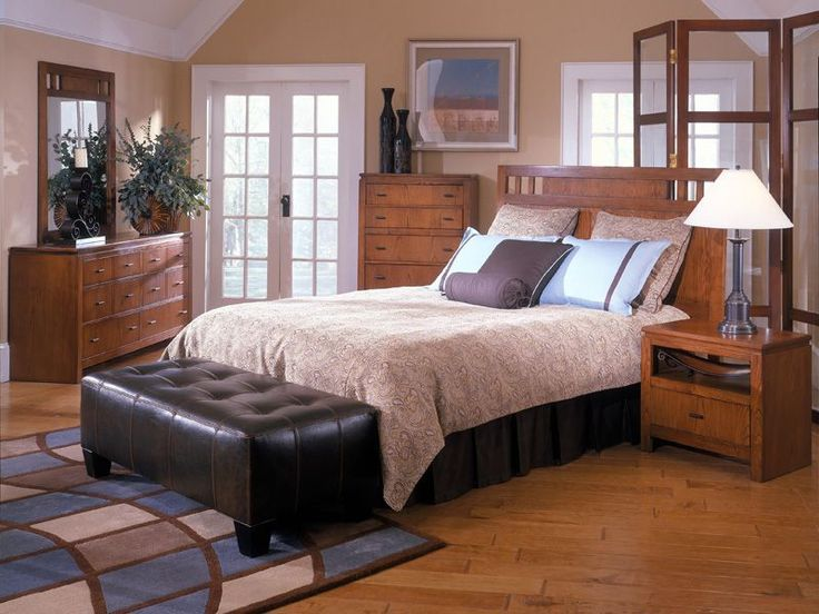Give yourself the luxurious and stylish room you deserve with the Oakbrook  King Bedroom. Rent ... Great House And Home Bedroom Furniture ...
