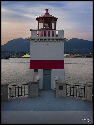 Brockton Point Lighthouse -- Stanley Park, Vancouver, BC