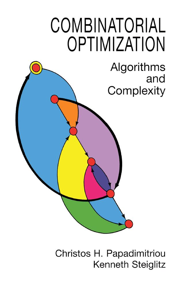 Combinatorial Optimization by Christos H. Papadimitriou  This clearly written, mathematically rigorous text includes a novel algorithmic exposition of the simplex method and also discusses the Soviet ellipsoid algorithm for linear programming; efficient algorithms for network flow, matching, spanning trees, and matroids; the theory of NP-complete problems; approximation algorithms, local search heuristics for NP-complete problems, more. All chapters are supplemented by...