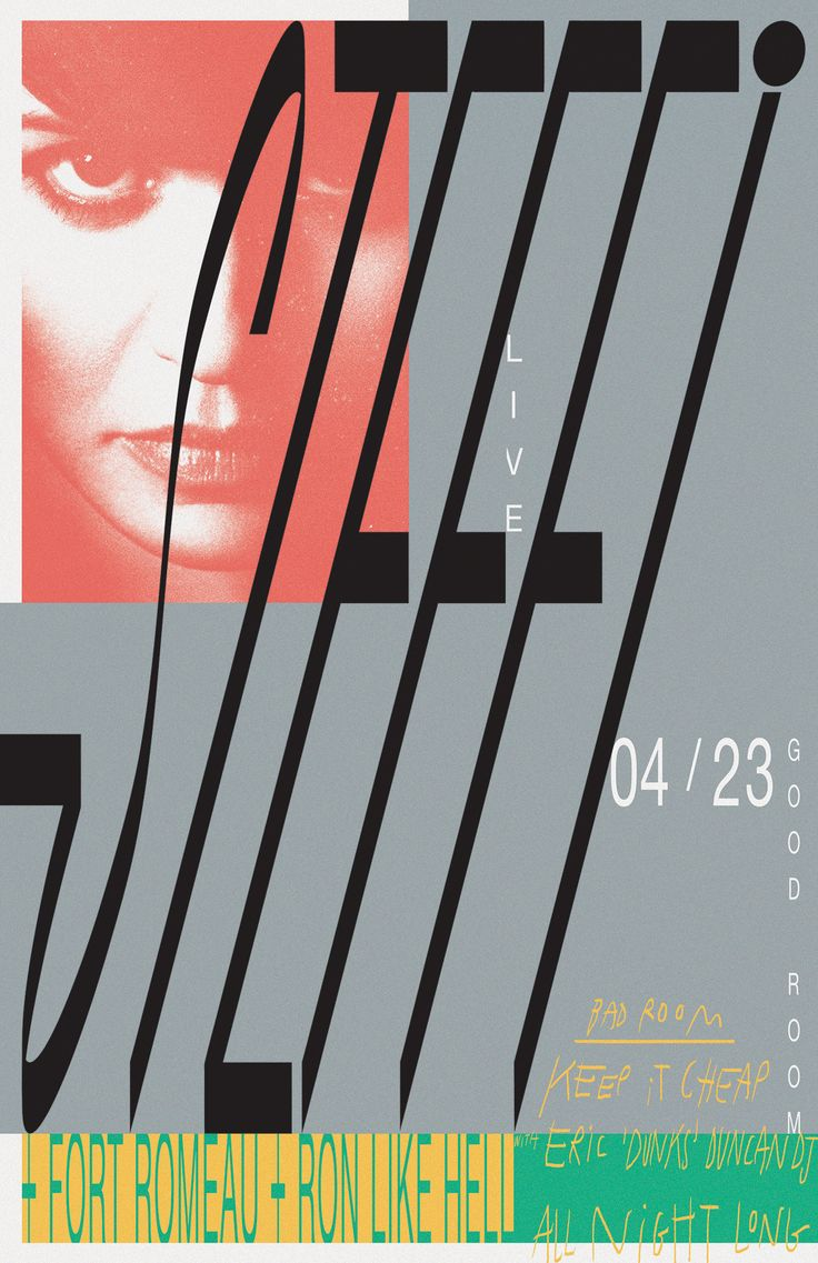 Steffi poster by Braulio Amado #graphic #design #poster