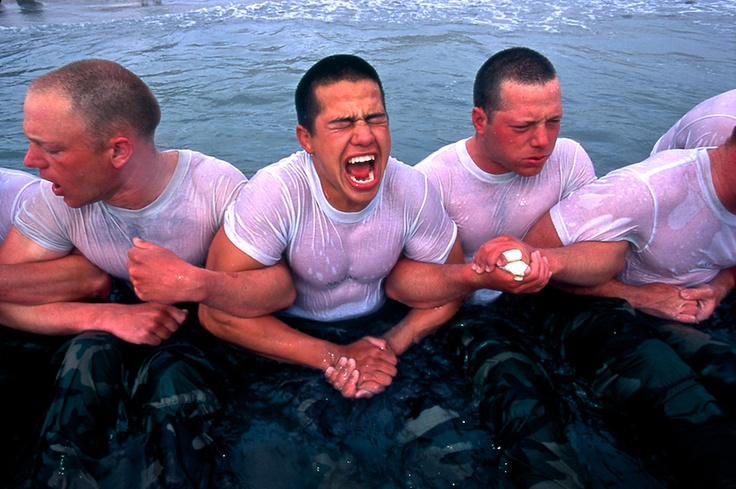 Is there anyone braver than the Navy Seals?