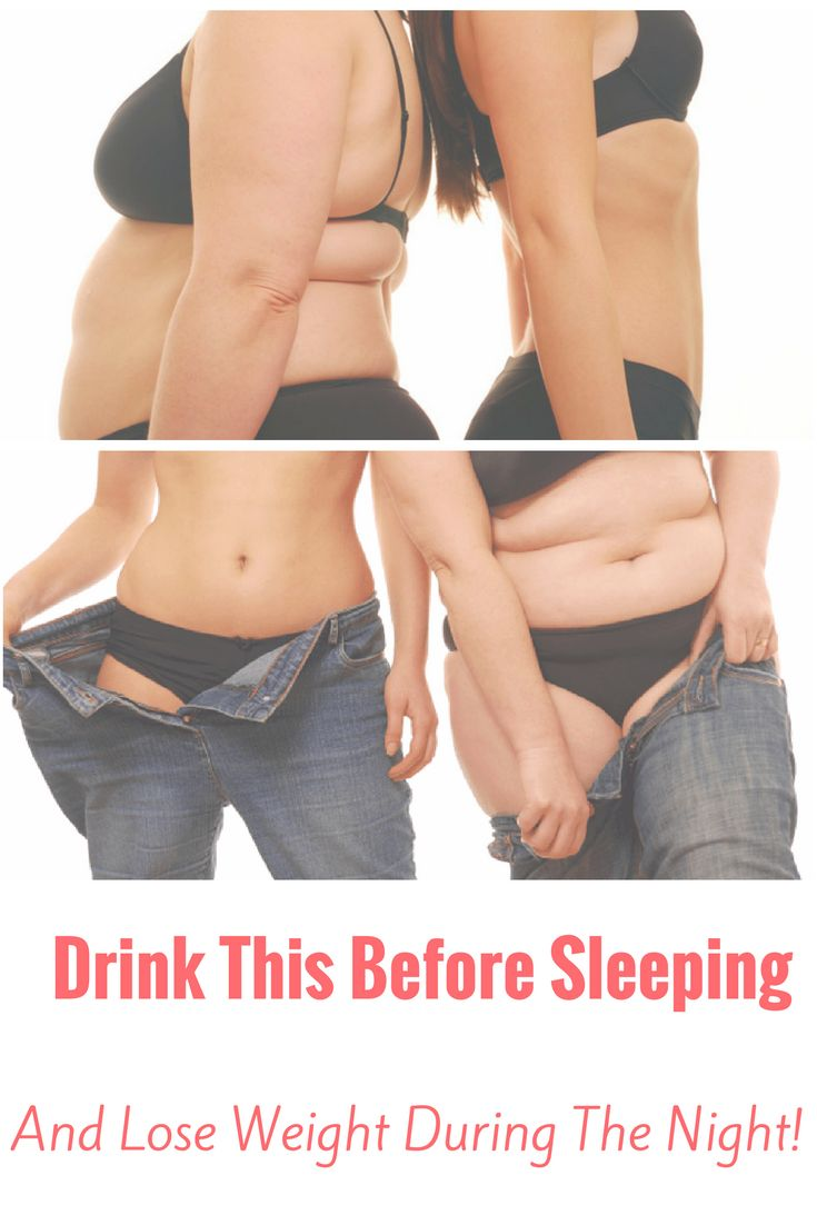 Drink This Before Sleeping, And Lose Weight During The Night!