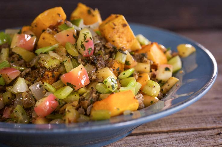 Breadless Butternut Stuffing.