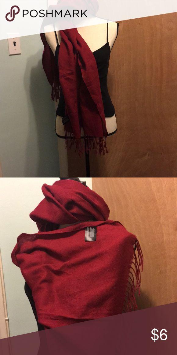 Punto Roma scarf Burgundy color  punto Roma Cotton scarf punto Roma Accessories Scarves & Wraps