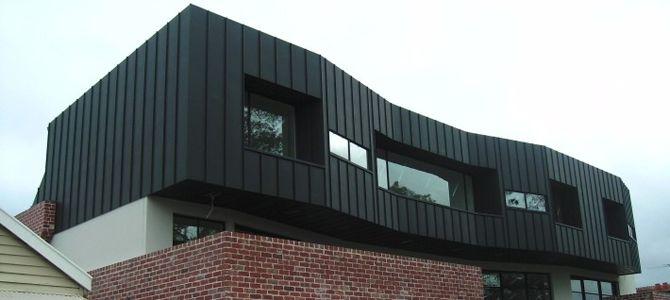 seam roofing in modern architecture - Поиск в Google