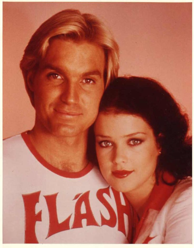Sam J. Jones & Melody Anderson in Flash Gordon (1980)