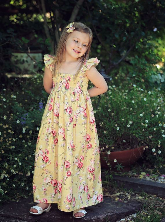 PATTERN Shirred Dress  PDF Pattern and Tutorial Instant